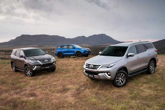 ALL NEW: Toyota's seven-seat 4x4 diesel SUV Fortuner goes on sale next week starting from $47,990.