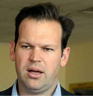 Rockhampton-based senator Matt Canavan.