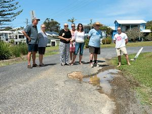 Residents call for road repairs