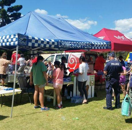 Toowoomba Police at the Harlaxton Family Day.
