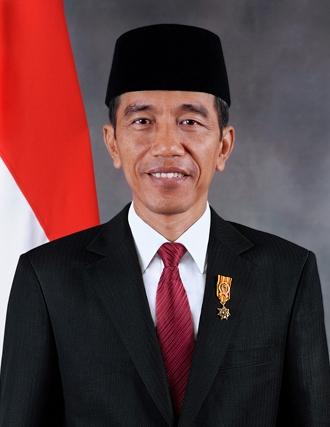 Indonesian president - Joko Widodo.