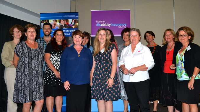 TACKLING BIG ISSUES: The Department of Communities, Child Safety and Disability Services brought the big issues to the table at their conference on Thursday.