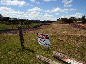 Wet weather delays North Lismore plateau development