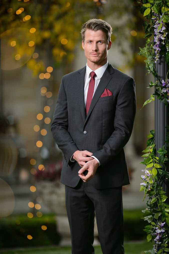 The Bachelorette finalist Richie Strahan.