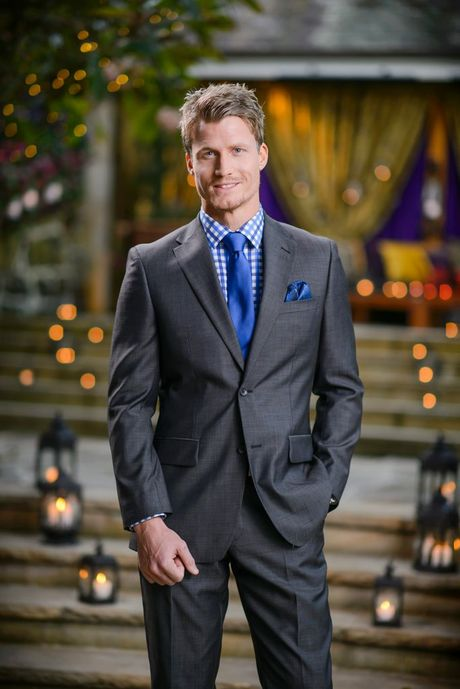 The Bachelorette finalist Richie Strahan. Supplied by Channel 10.