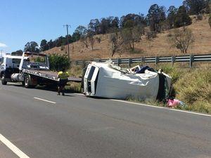 Warrego Hwy now open following single-vehicle crash