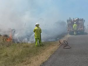 Police seek public's help with suspicious grass fire