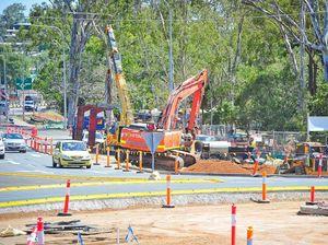 Kin Kora roundabout going, signalisation begins tomorrow