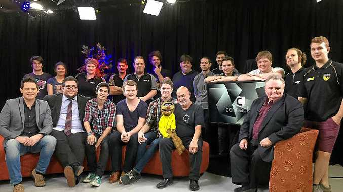USQ CONNECTS: Jamie Dunn, Collective Noun and Late Nite Media feature on the next episode of the student-produced television show Connected.