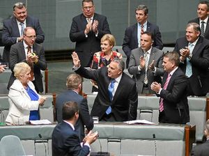 Treasurer Joe Hockey gives farewell speech in Parliament