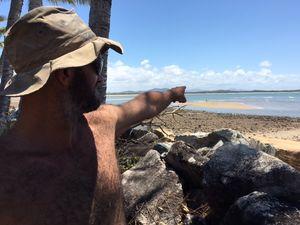 Crocodile sighting off Mackay beach sparks alarm