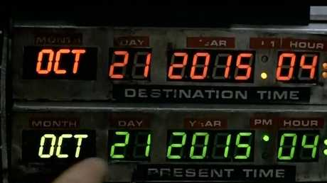 Today is the day time-travellers from 1985 arrive in