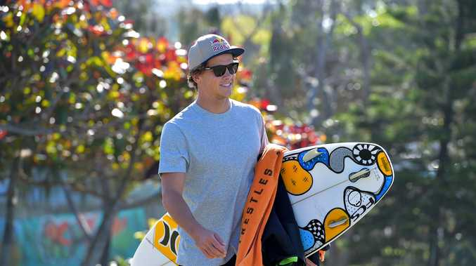 AWARD RECIPIENT: Julian Wilson was recognised for his courage