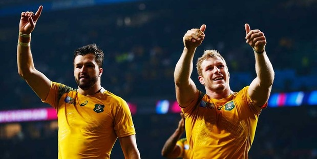 Australia has received good news on the World Cup injury front with concerns easing around inspirational flanker David Pocock.