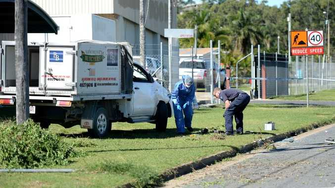 Police investigate an incident on the Capricorn Coast.