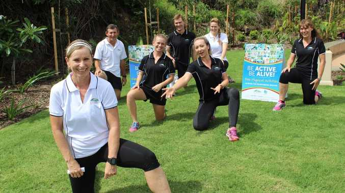 Bundaberg Regional Council's Be Active, Be Aliver program encourages residents to achieve fitness goals. Photo contributed