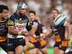 Johnathan Thurston of the Cowboys during the NRL Grand Final between the Brisbane Broncos and the North Queensland Cowboys at ANZ Stadium in on Sunday, Oct. 4, 2015. (AAP Image/Dean Lewins) NO ARCHIVING, EDITORIAL USE ONLY