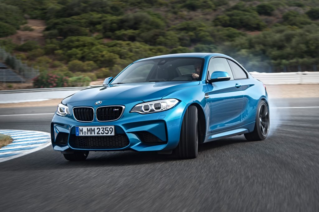 SMOKE SIGNALS? BMW's new M2 Coupe will be a smaller and cheaper performance alternative to the M4, and probably even more fun