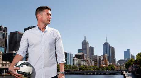 MELBOURNE, AUSTRALIA - DECEMBER 13: Asian Cup ambassador Harry Kewell poses for a photo at Crown Metropol on December 13, 2014 in Melbourne, Australia. (Photo by Darrian Traynor/Getty Images for Asian Cup 2015)