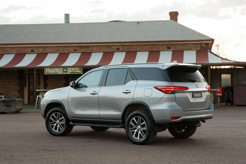 2015 Toyota Fortuner. Photo: Contributed.