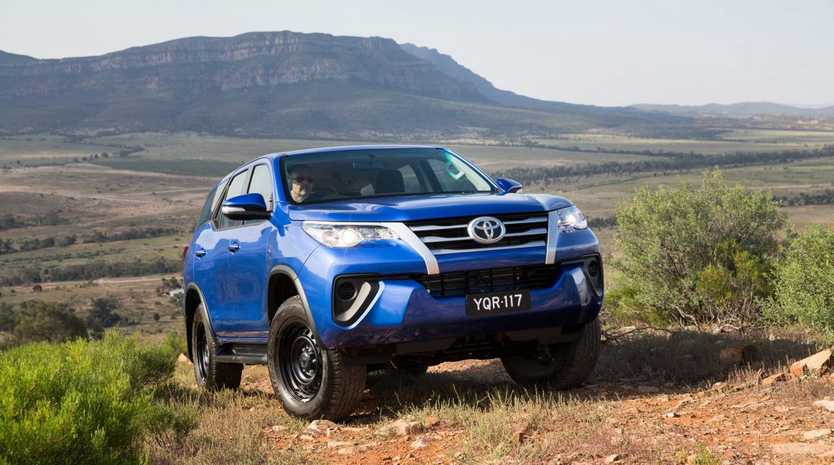 ON A ROLL: New Fortuner 4x4 large SUV starts at $47,990, offering a cheaper alternative to Prado and a diesel seven-seat alternative to Kluger.