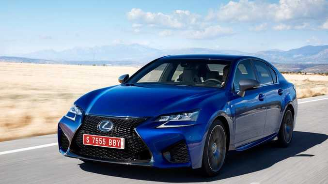 2016 Lexus GS-F. Photo: Contributed.