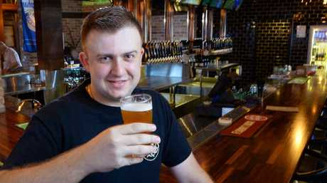 BEERS FLOWING: Tap'd bar manager Tim Rule.