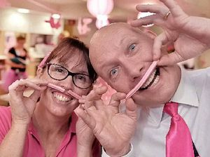'Pinktober' brings out smiles at Nambour private hospital