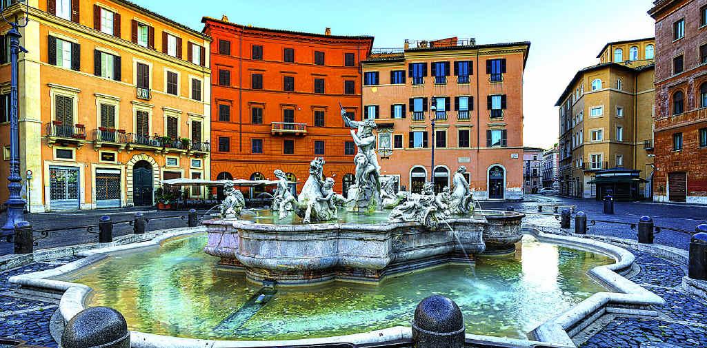 Rome's Piazza Navona, for three centuries the city's main market.