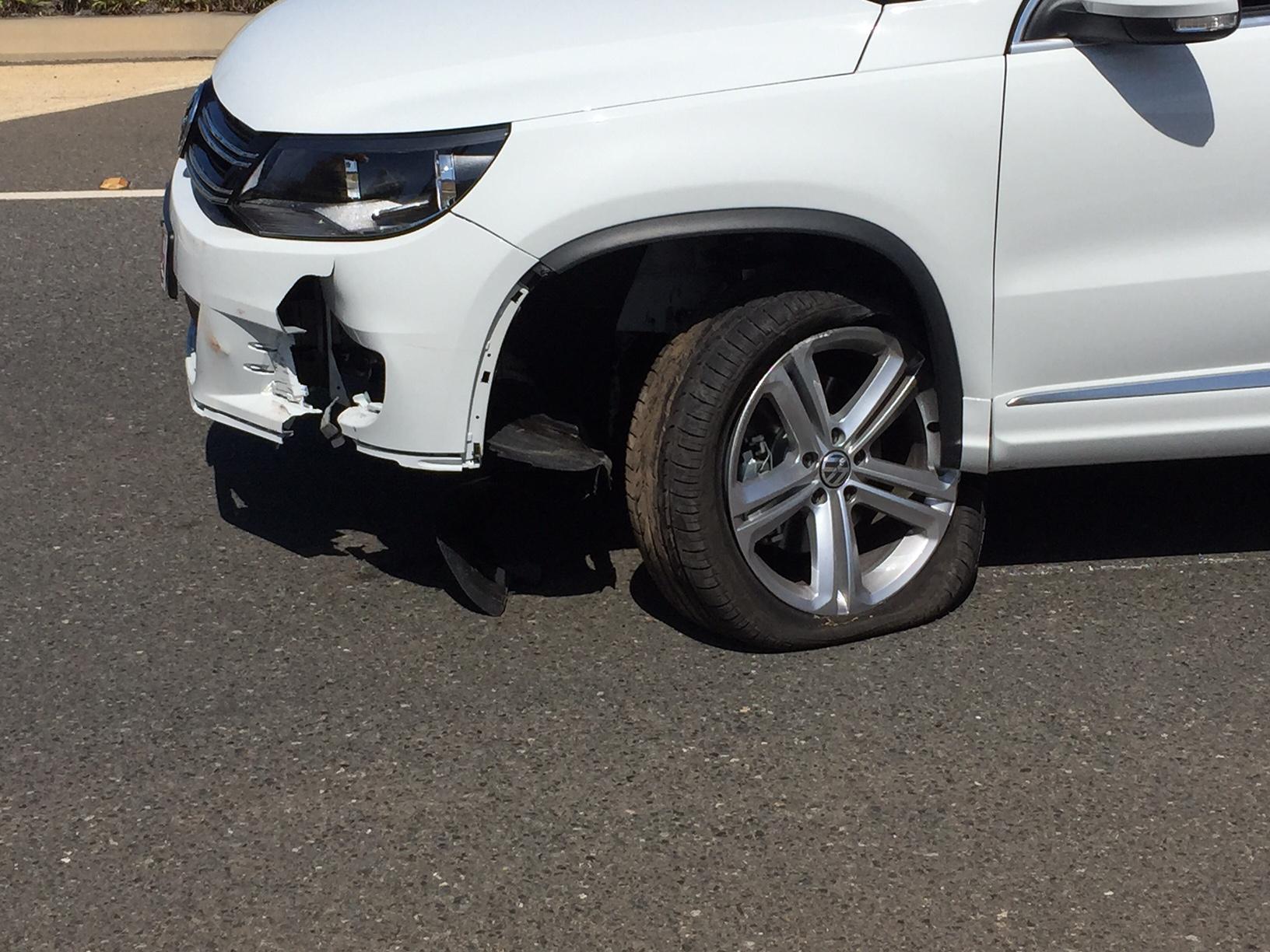 Damage to the vehicle.