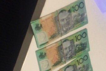 REAL DEAL: Money that was thought to be counterfeit has turned out to be real.
