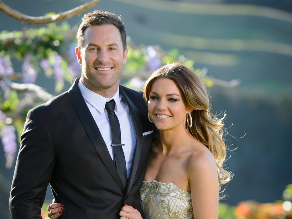 The Bachelorette Sam Frost and winner Sasha Mielczarek pictured in New Zealand.