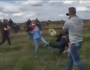 Camerawoman to sue Syrian refugee she tripped up