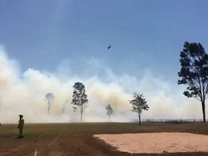 Crews work to contain North Bundy fire