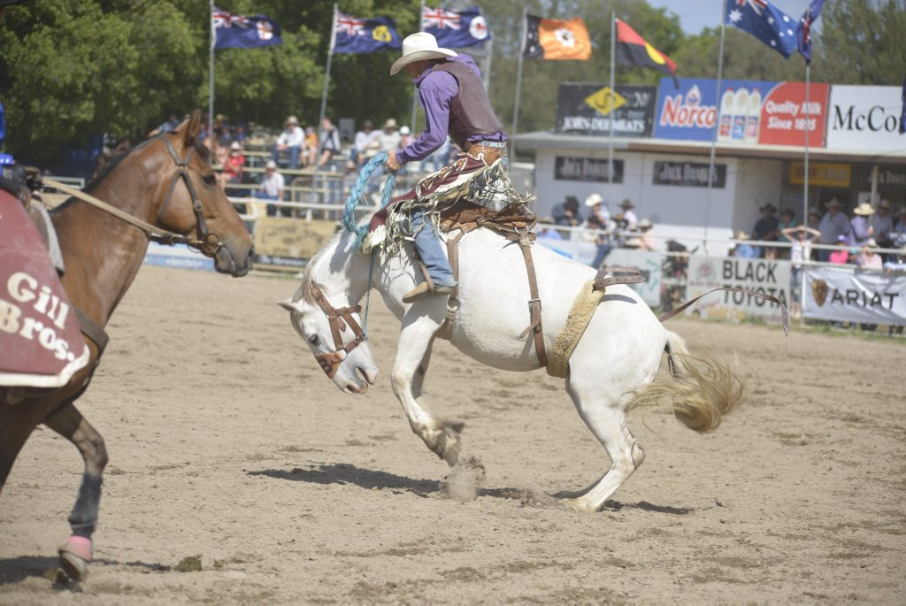 Fans will cheer on local boy Michael Maher in an action packed rodeo program this weekend.