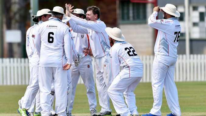 Fraser Coast Cricket grading - Mary River Mullets. Photo: Valerie Horton / Fraser Coast Chronicle