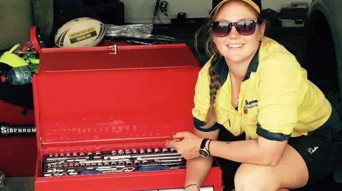 Hutchinson Builders apprentice Lauren Cockburn