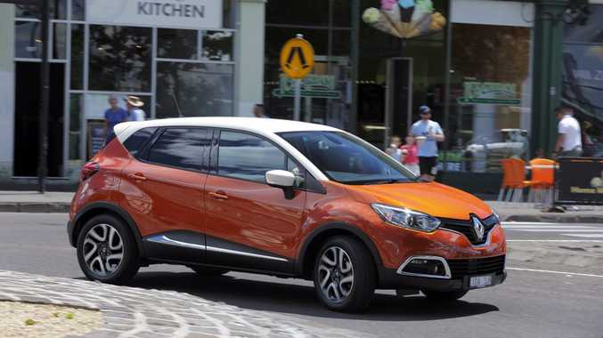 CITY FLAIR: Lovely looks but will our road testers fall for the Renault Captur's charms?