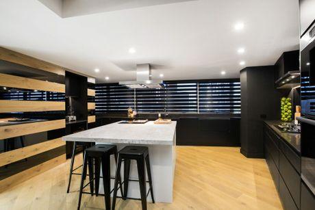 Suzi and Vonni's kitchen in a scene from The Block.
