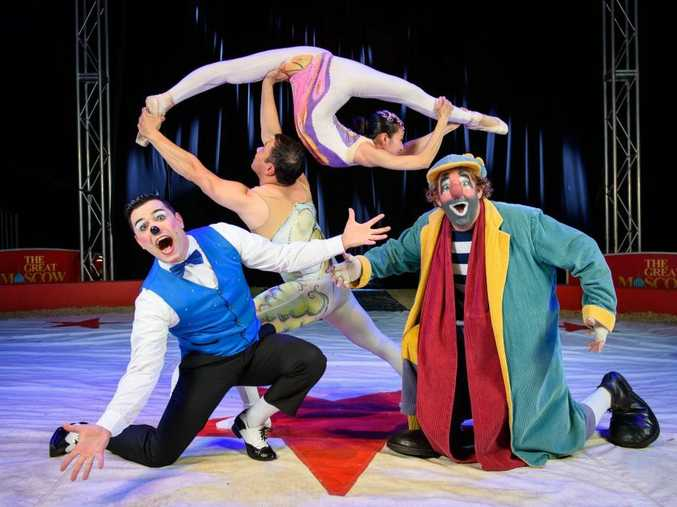 The Great Moscow Circus will bring an international cast to Ballina.