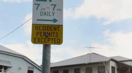 Daniel Pankhurst received a parking ticket in Milton. Photo: Rob Williams / The Queensland Times