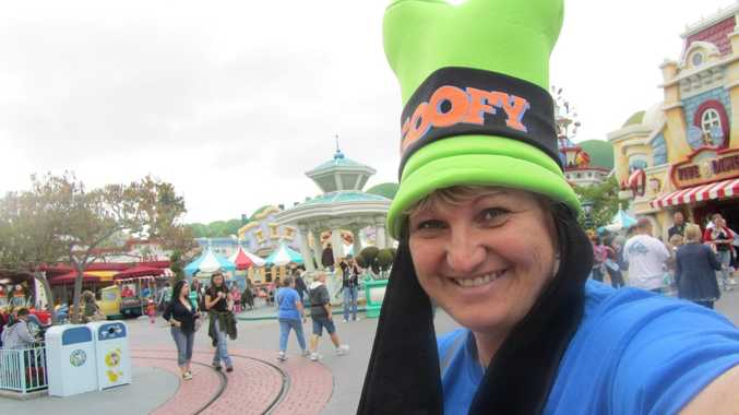 Jody Griffiths has been to almost every Disneyland in the world. Photo Contributed