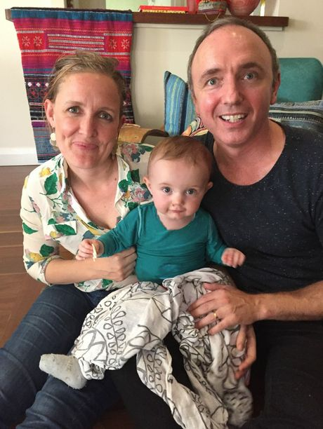 RARE CONDITION: Parents Nina and Matt Howard had never heard of epidermolysis bullosa until their baby Lola was born with it. Photo Contributed
