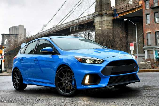 ALL-WHEEL-DRIVE: 2016 Ford Focus RS.