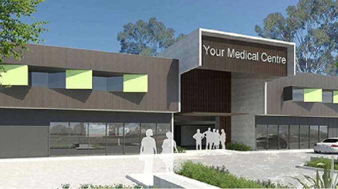 HEALTHY MOVE: A new medical centre is to be built in Childers to provide better services for the community.