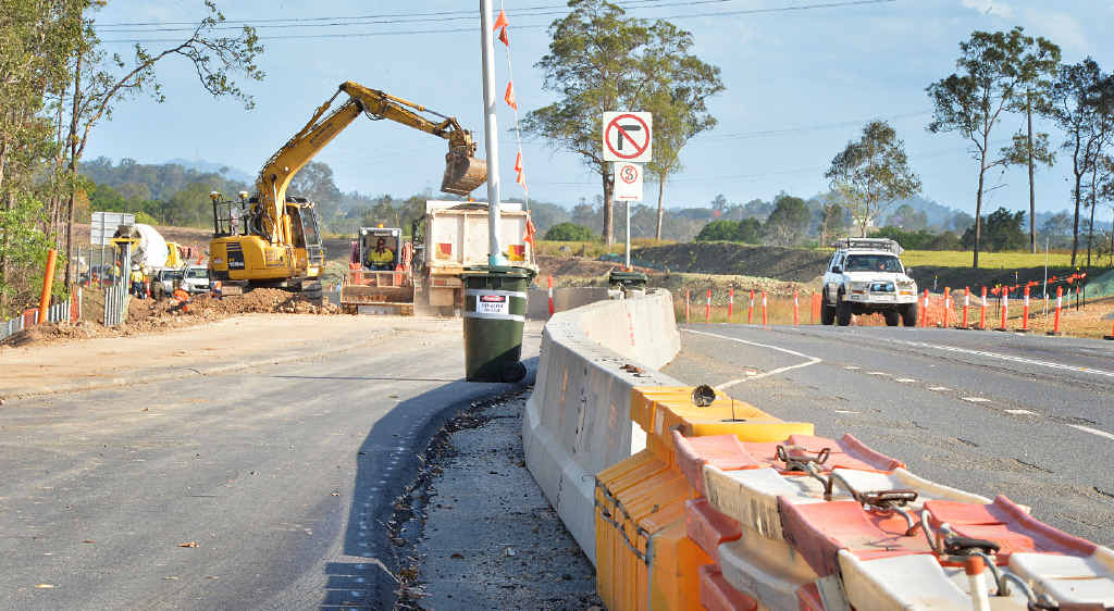 The Transport and Main Roads Department reports encouraging progress on improving Gympie's link to the Bruce Hwy.
