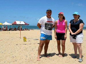 Surf lifesavers assure swimming kids after croc sightings