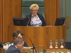 Michelle Landry steps into role of Speaker in Parliament