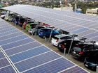 WAY OF THE FUTURE: A solar carport in Brisbane is the first of its kind in Australia.