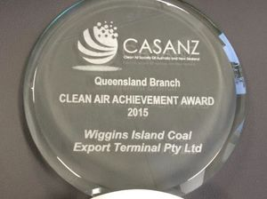 WICET wins 2015 Clean Air Achievement Award